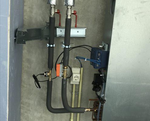 VAVi box met heaterbatterij